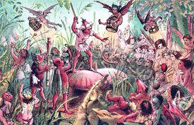 An illustration of A Midsummer Night's Dream