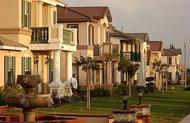 Suburb of Los Angeles