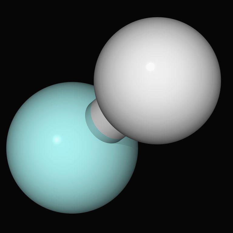 Hydrofluoric acid molecule