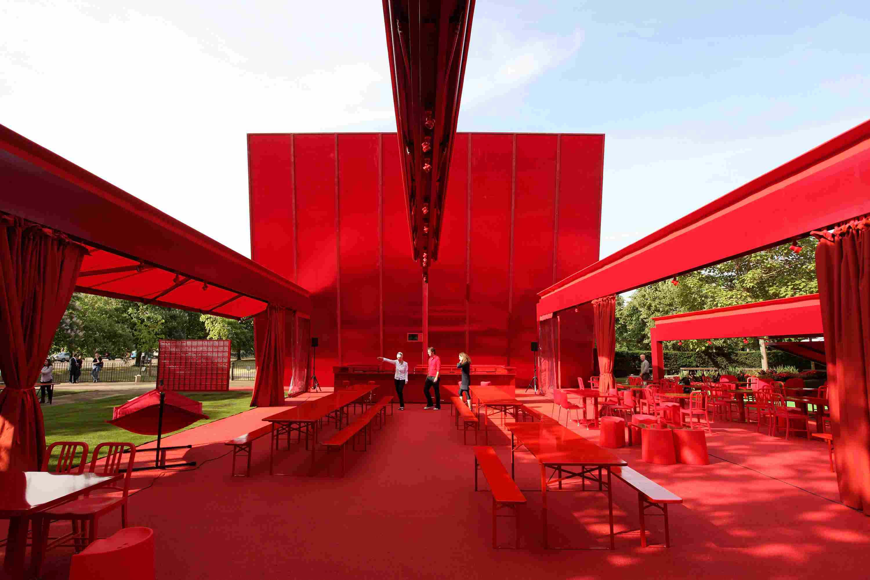 Jean Nouvel's 2010 Serpentine Gallery Pavilion in London