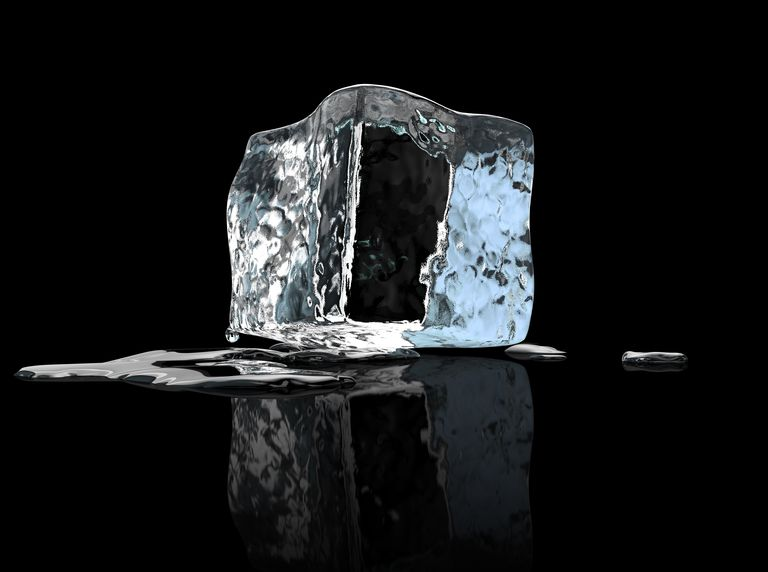 Heat Of Fusion Example Problem Melting Ice