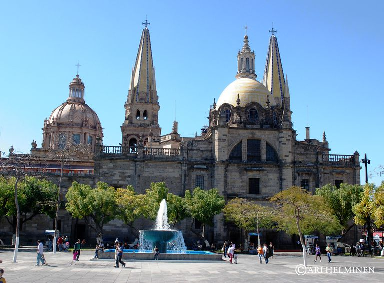 Cathedral in Guadalajara