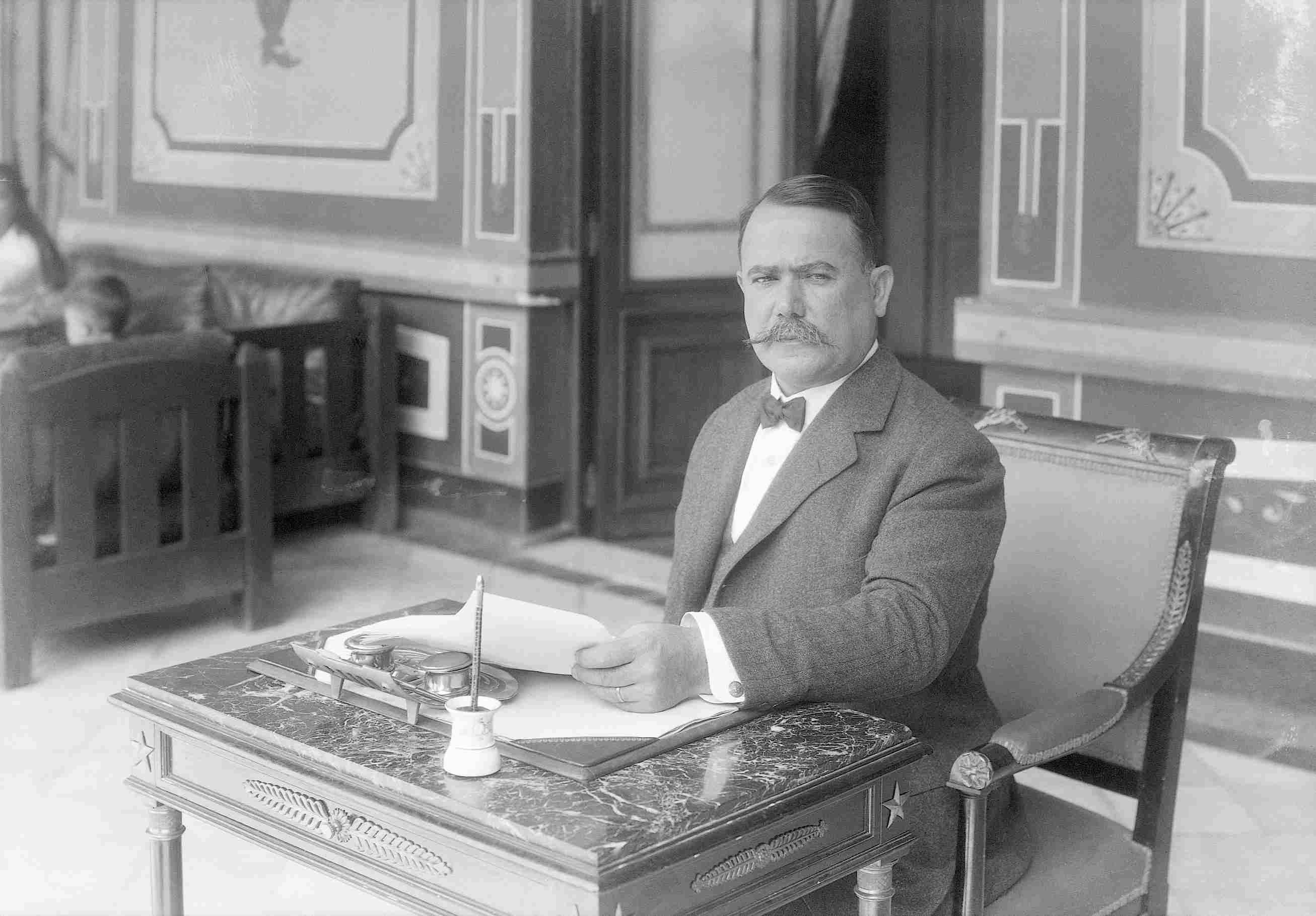 Ο Πρόεδρος του Μεξικού Alvaro Obregon