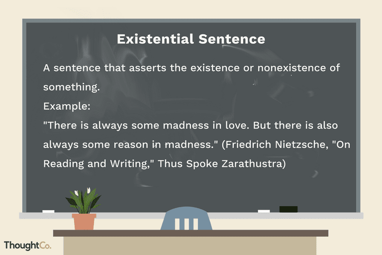 Definition And Examples Of Existential Sentences In English