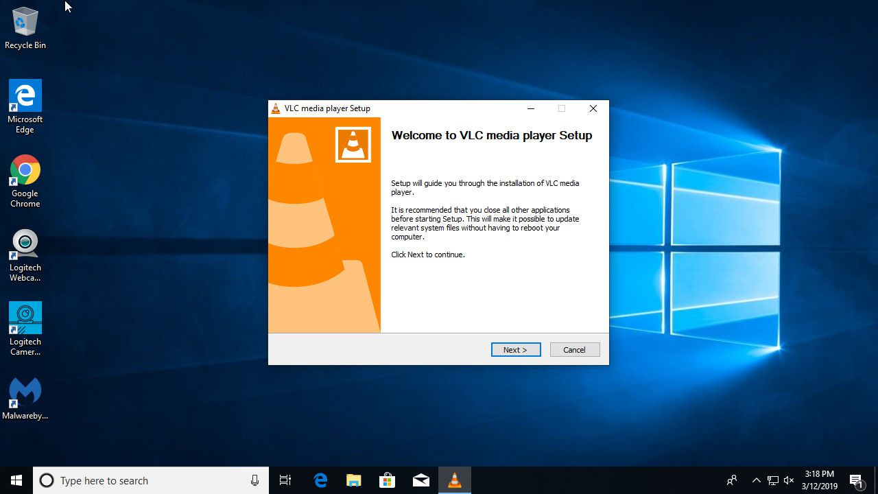 Install VLC