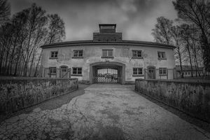 The Dachau concentration camp in Germany