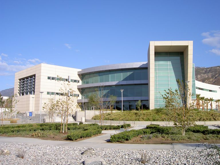 Campus at Cal State San Bernardino, CSUSB.
