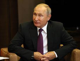 Russian President Vladimir Putin Receives Azerbaijani President Ilham Aliyev in Sochi