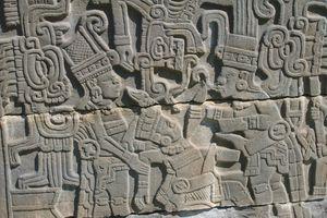 Tajín Sacrifice Sculpture