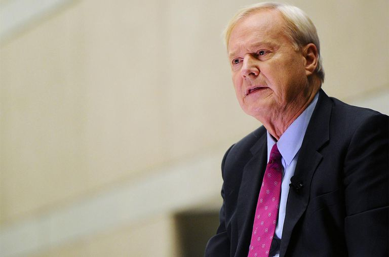 Chris Matthews, host of MSNBC's Hardball, discusses his new book 'Jack Kennedy: Elusive Hero' at the National Constitution Cente