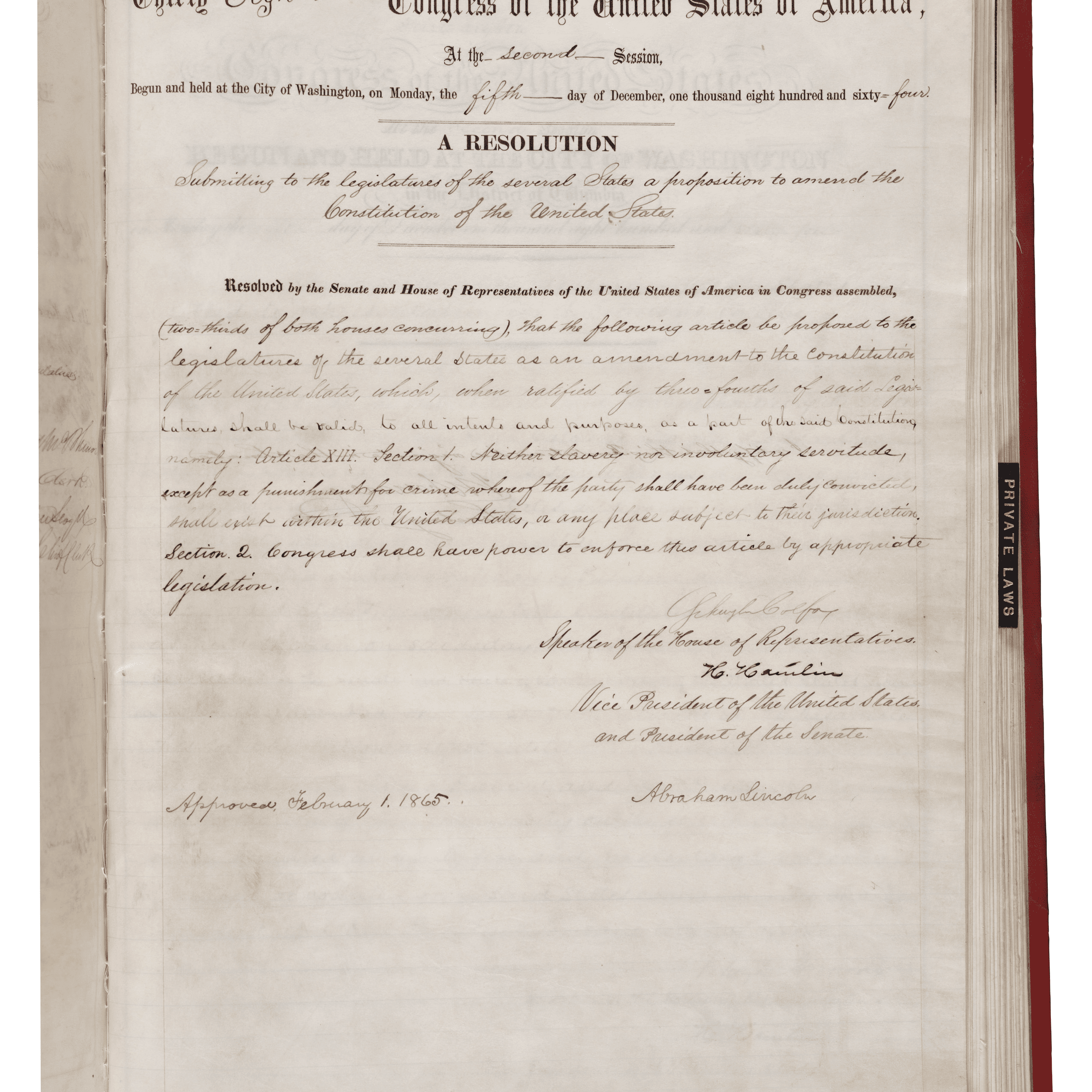 the 13th amendment: history and impact