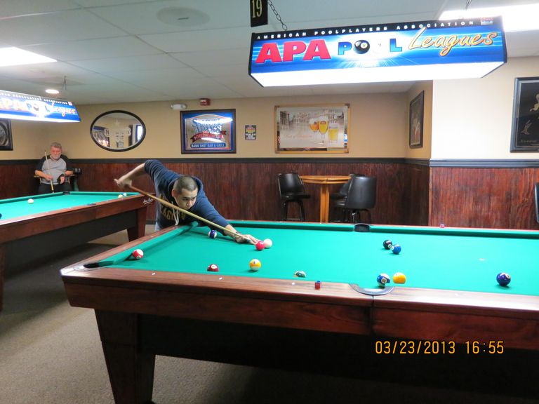 Pool Table Space Cheating SmallerSized Rooms - How much room for a pool table