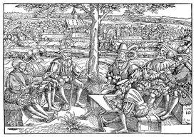 War council during the Schmalkaldic War
