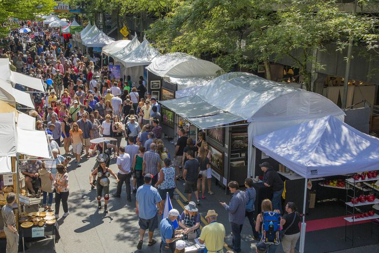 Arts Fair Festival in Bellevue, Washington
