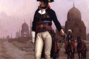Jean-Léon Gérôme (French, 1824-1904). Napoleon in Egypt, ca. 1867-68. Oil on canvas.