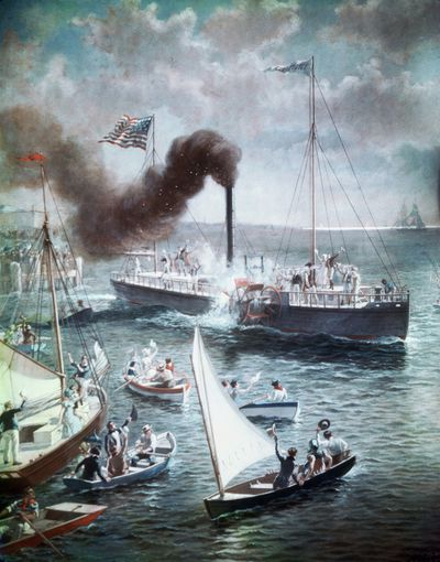 Robert Fulton and the Invention of the Steamboat