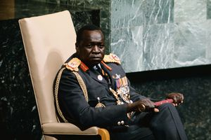 President Idi Amin