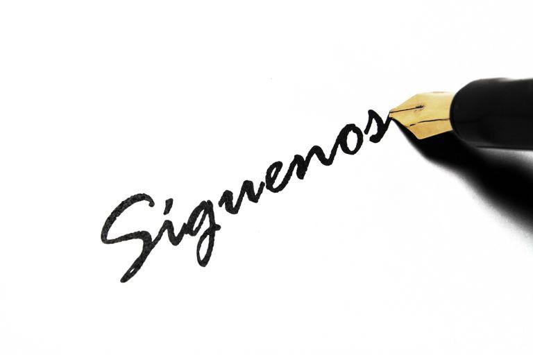 Follow us - Siguenos