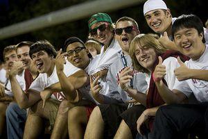 Santa Clara University - Students at a Game