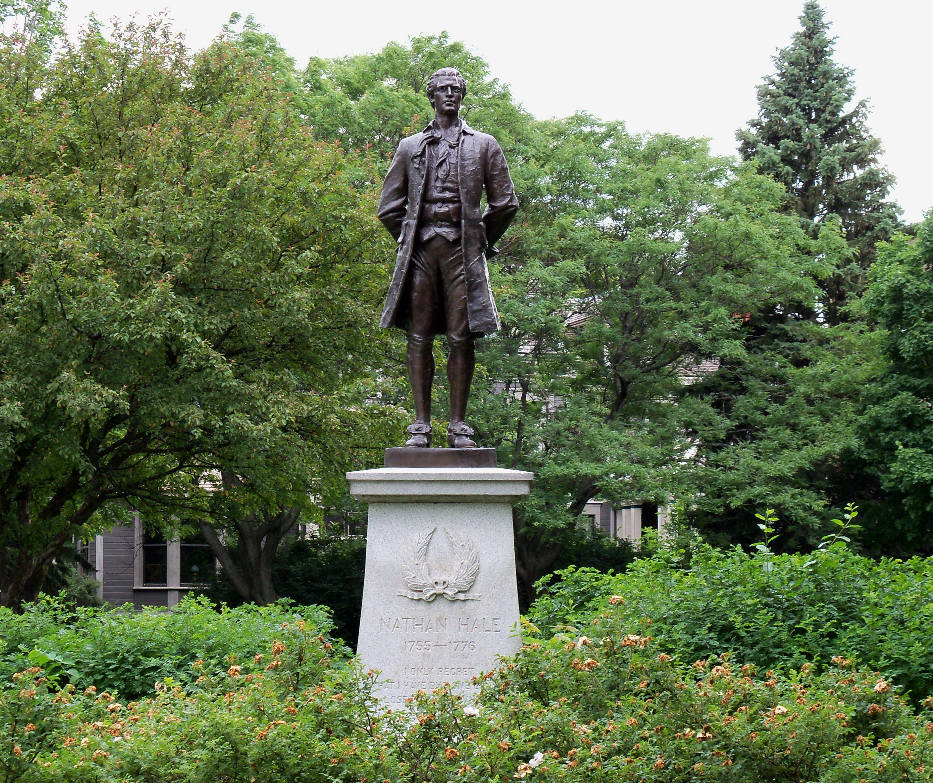 Nathan Hale Statue, St. Paul, Minnesota