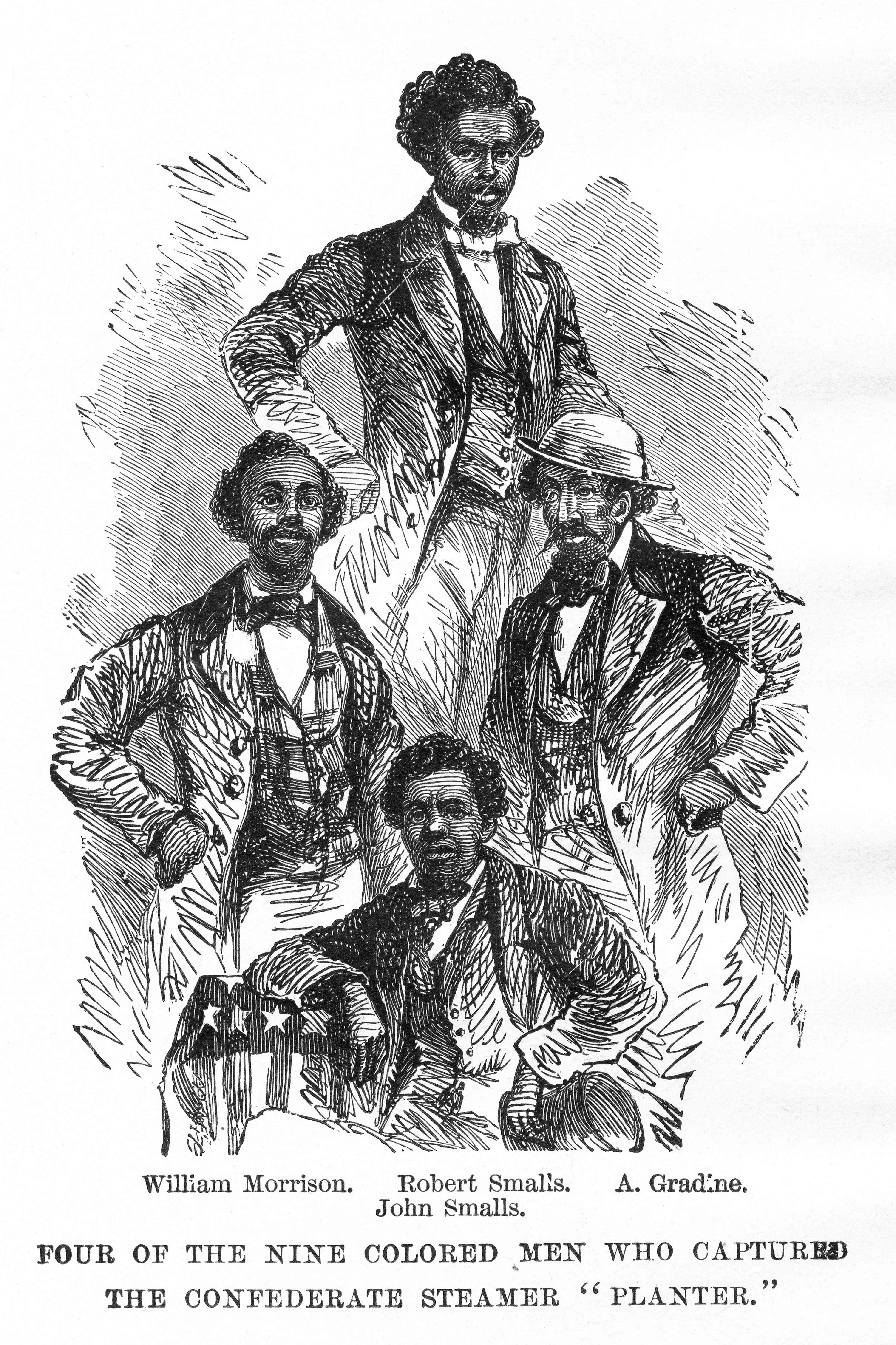 Men Who Captured The 'Planter'