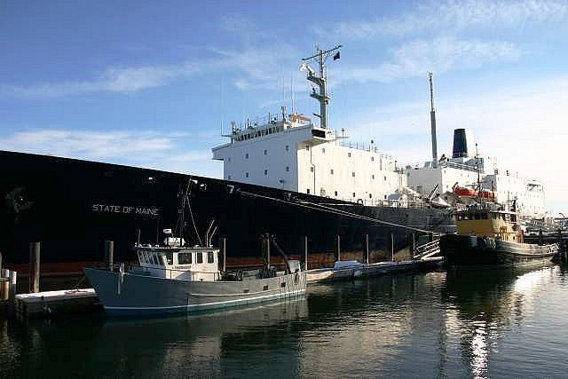 The State of Maine - Maine Maritime Academy's training ship