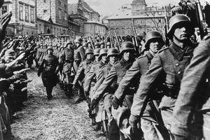 Nazis enter Prague, 1939
