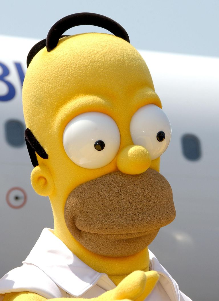Simpsons JETBLUE Event
