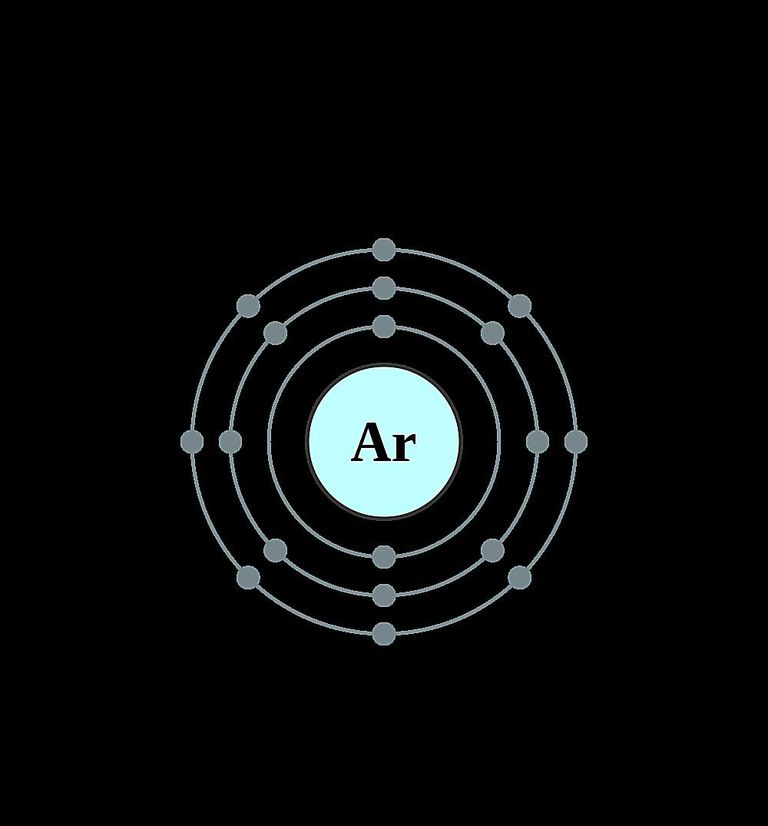 Atoms diagrams electron configurations of elements argon atom electron shell diagram ccuart