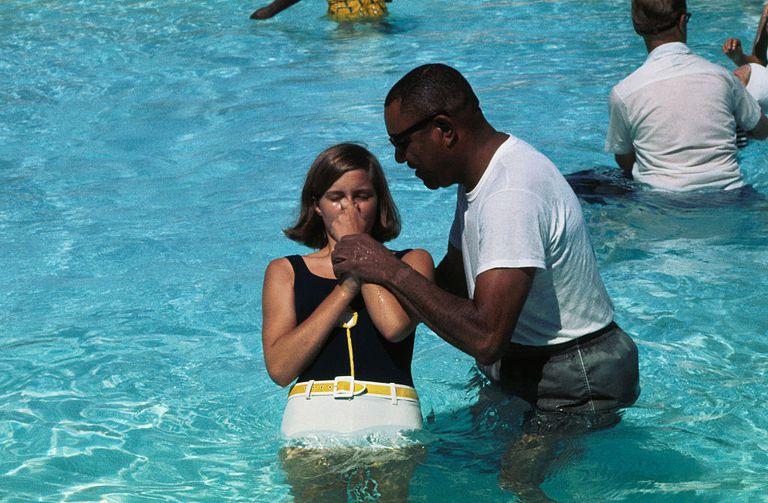 Jehovah's Witness Baptism