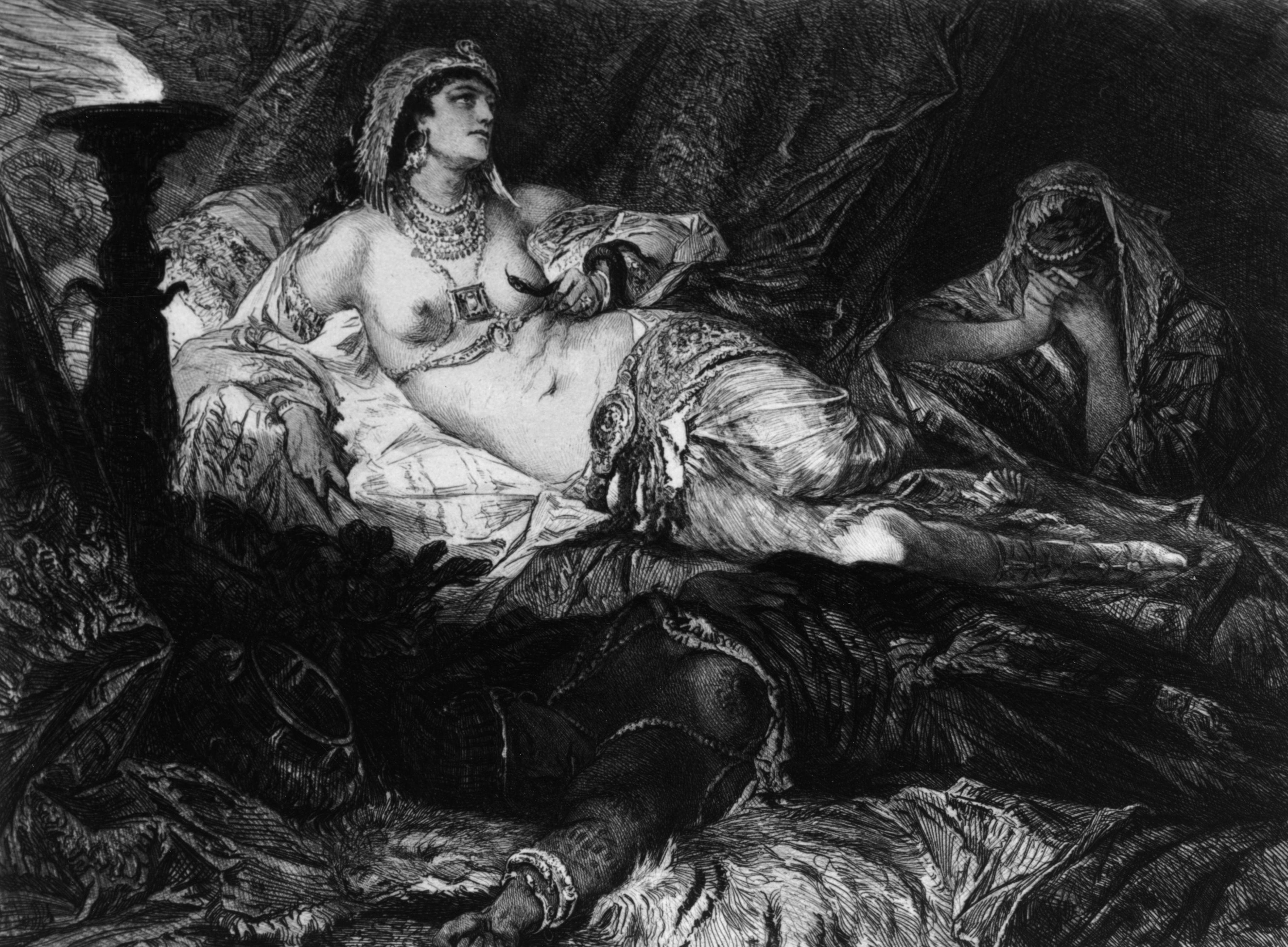 Cleopatra và Asp