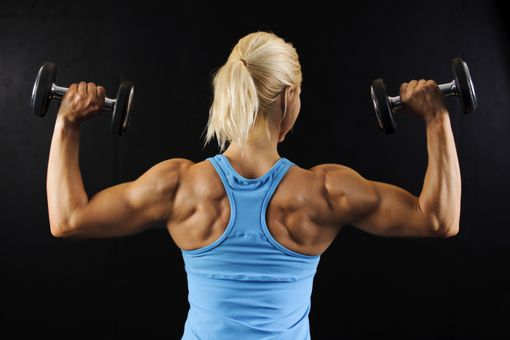 Anabolic exercise helps build muscle strength and endurance.