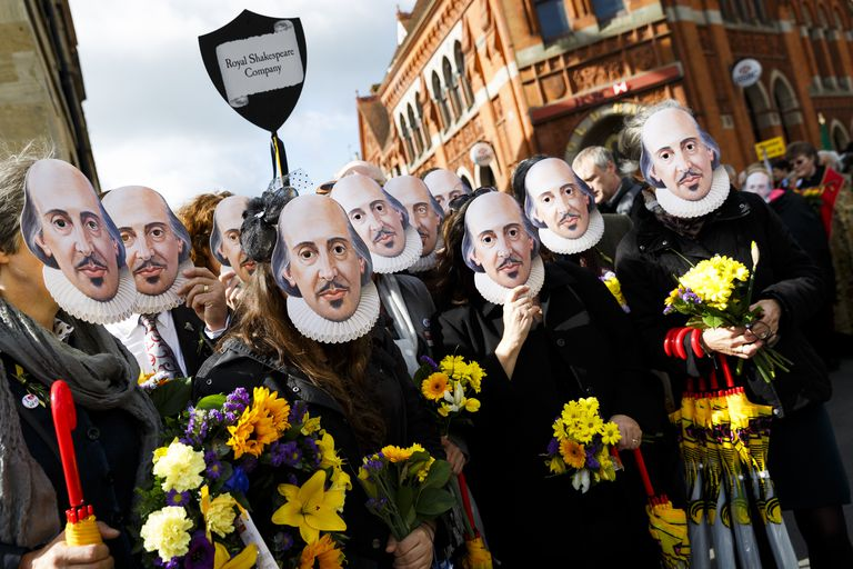 The Anniversary Of Shakespeare's Death Is Commemorated In Stratford-Upon-Avon