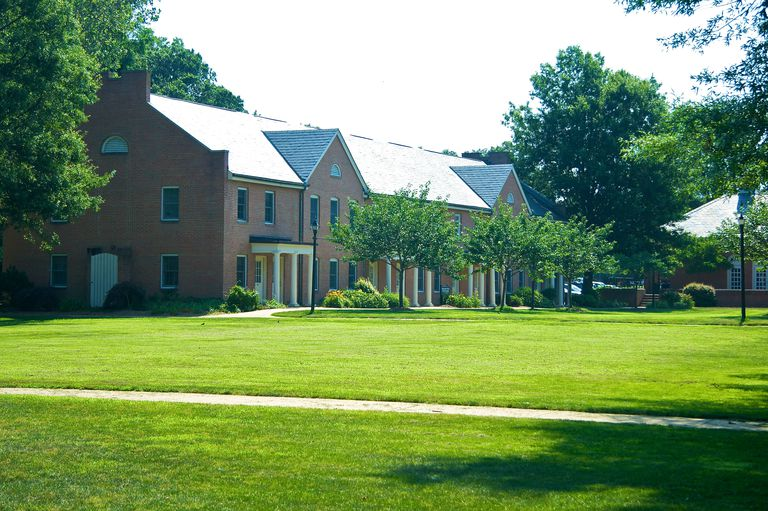 Student townhouses St. Mary's College of Maryland