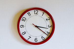Close-Up Of Wall Clock