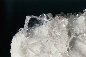 Close-up of rock salt