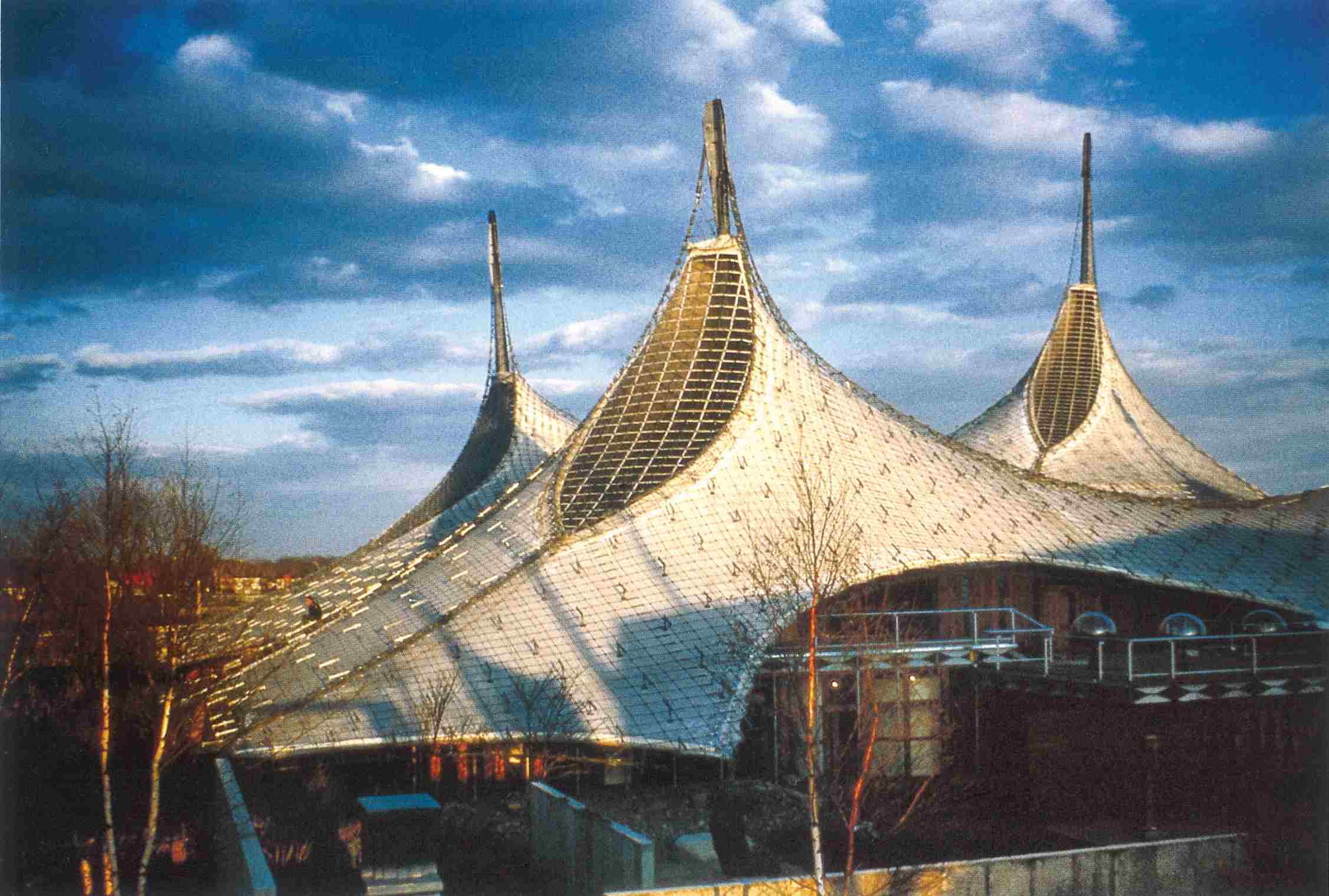 The German Pavilion at Expo 67, 1967, Montreal, Canada
