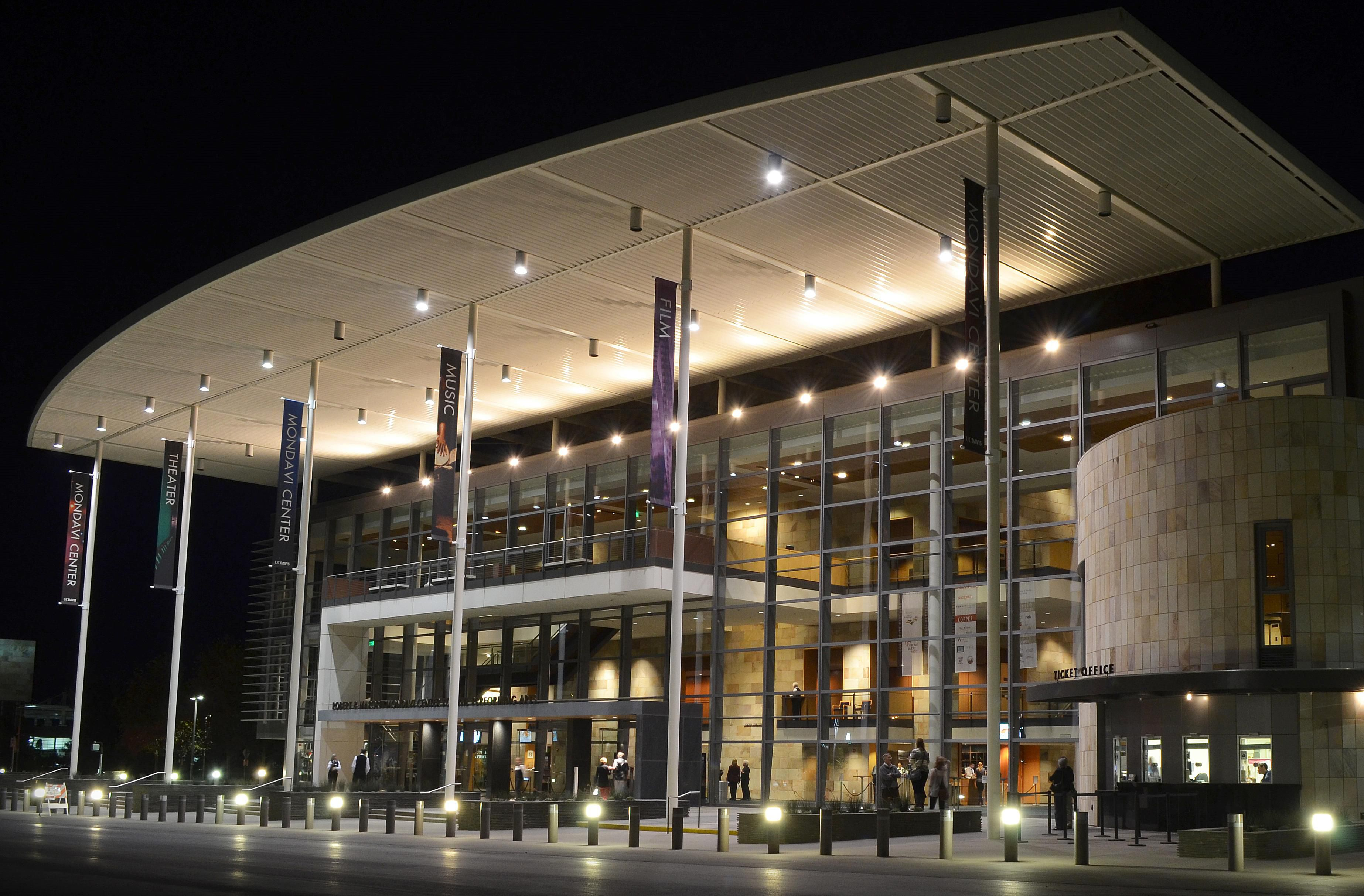 The Mondavi Center for the Performing Arts at UC Davis