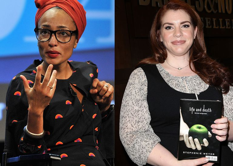 Zadie Smith and Stephanie Meyer