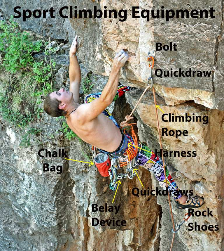 Essential Sport Climbing Gear And Equipment