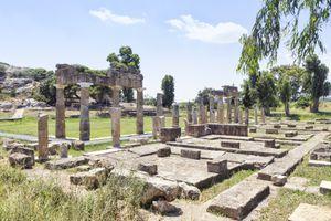 Greece, Attica, Brauron, sanctuary of Artemis
