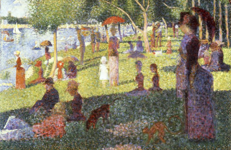 Sunday Afternoon on the Island of La Grande Jatte by Georges Seurat, oil on canvas