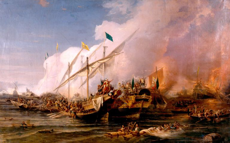 Barbarossa led the Ottoman navy to victory in the Battle of Preveza, 1538.
