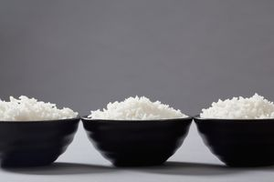 3 bowls of cooked rice