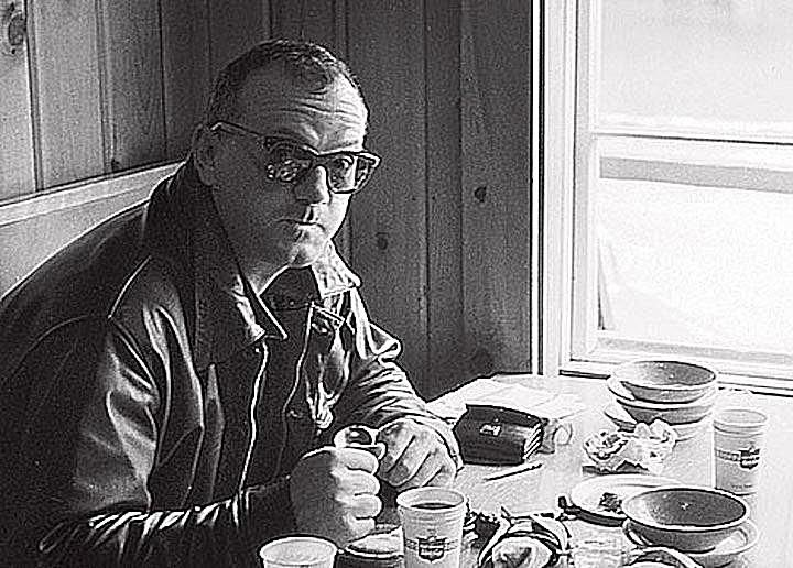 C. Wright Mills, sociologist, journalist, and public intellectual.
