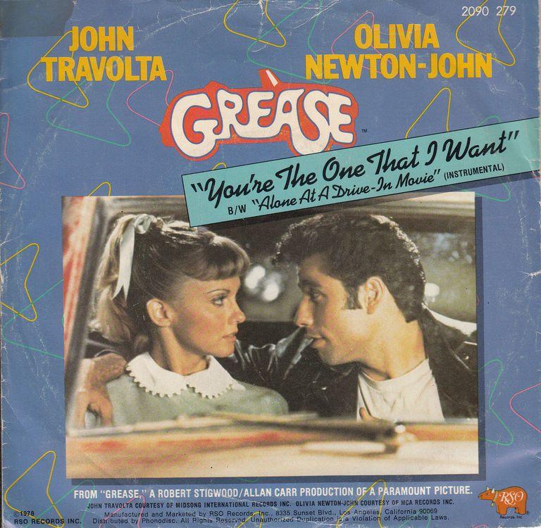 John Travolta Olivia Newton-John You're the One That I Want