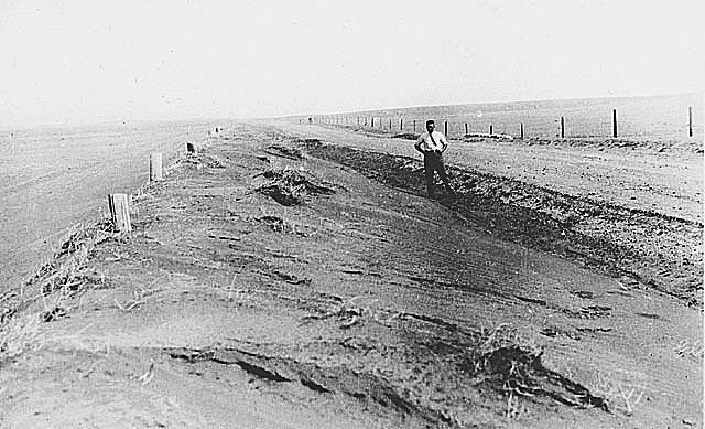 Drought in Saskatchewan in the Great Depression