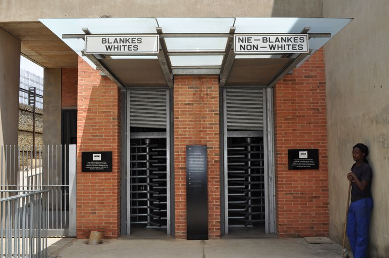 Entrance to Apartheid Museum