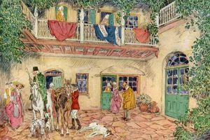 'The Haunted House', New Orleans, Louisiana, USA, c18th century (1921).Artist: James Preston
