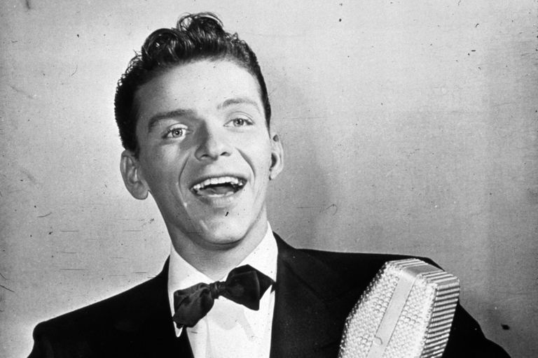American singer and actor Frank Sinatra c. 1935